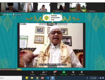 PPKPK Peringati Maulid Nabi Muhammad saw di Asrama Mahasiswa UTM